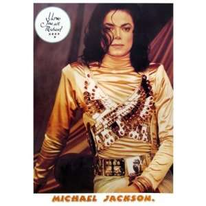 Michael Jackson    King of Pop Poster