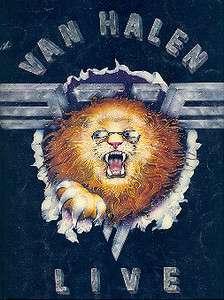 VAN HALEN 1982 DIVER DOWN TOUR CONCERT PROGRAM BOOK