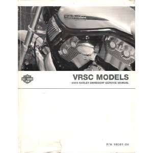 Manual (VROD), Part No. 99501 04: Harley Davidson Motor Company: Books