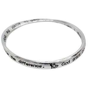 Infinity Bracelet with Quote   God grant me the serenity to accept