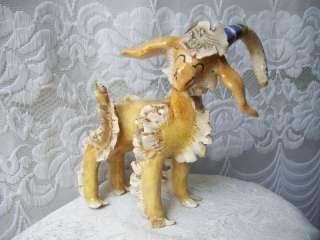 ARL Paris Ceramic Art Figurine Animal Ram Goat Big Horn