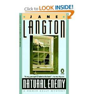 Enemy A Homer Kelly Mystery (9780140133936) Jane Langton Books