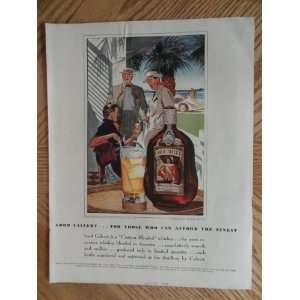 Biscayne Bay)Original vintage 1939 Colliers Magazine Print Art