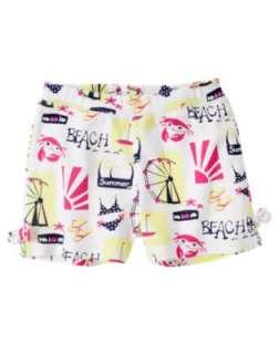 Gymboree Cape Cod Cutie Summer Fun Beach Crab Starfish Tank Top Shorts