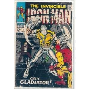 IRON MAN # 7, 2.5 GD + Marvel Comics Group Books
