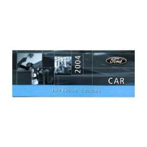 2004 FORD CAR Paint Chips [eb7594N] Automotive