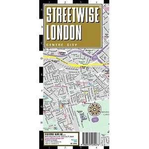 Streetwise London Map   Laminated City Street Map of London