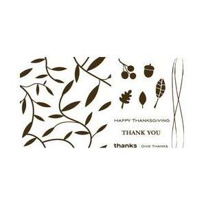Lifestyle Crafts Letterpress Printing Plate Set, Thicket