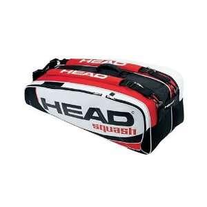 Head Squash Super Tour Combi 8 12 Racquet Bag Sports