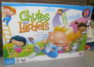 The Chutes and Ladders Board Game Brand New Milton Bradley