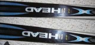 Head Cyber Skis 7/180 Marker M41 Bindings Bag Poles Set