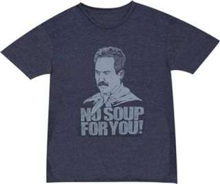 Seinfeld Soup Nazi Classic TV Show Retro Jerry Kramer T Shirt