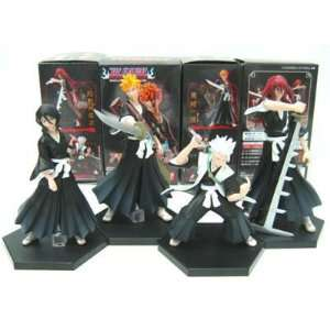 Bleach Set of 4 Anime Character Figures (RARE) Toys & Games