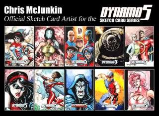 The Green Goblin ACEO Sketch Card Original Art Chris McJunkin Marvel