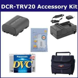 Sony DCR TRV20 Camcorder Accessory Kit includes DVTAPE