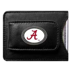 Alabama Crimson Tide NCAA Logo Credit Card/Money Clip