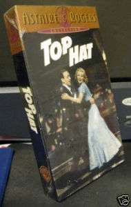 Top Hat ~ Fred Astaire & Ginger Rogers(1999 New VHS)197 053939657234