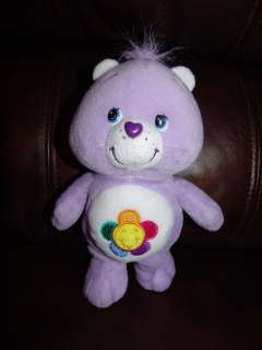 Care Bear Purple Harmony Bear Plush Beanie Doll 8