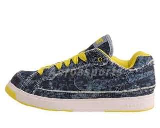 Nike Air Troupe Low Denim Blue Voltage New Dancing Shoe 324923400