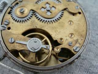 Antiguo y gran Reloj Pulsera Swiss. Caja Original. Cuadrante Original