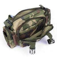 Sports Camo Belt Waist Travel Bags Purse Case Men Woman