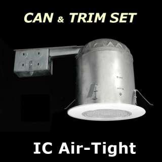 6x6 IC Air Tight Recessed Light + Trim set IN700R 6F