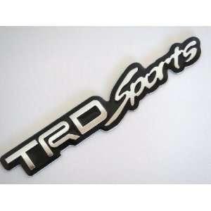 TRD Sports Black Emblem Automotive