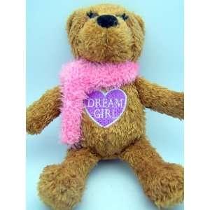 Day Heart Purple Dream Girl Toy Teddy Bear Plush Pink Heart Be Mine