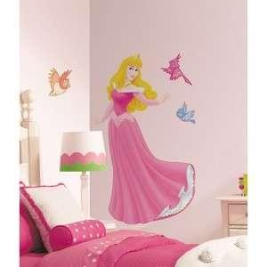 Disney Princess Wall Decals~Cinderella, Ariel, Belle,Tiana, Jasmine