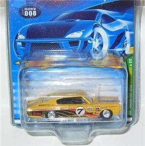 2001 HOT WHEELS TREASURE HUNT DODGE CHARGER 8/12