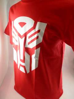 Transformers G1 Autobot Logo Adult Mens Red M T Shirt Medium
