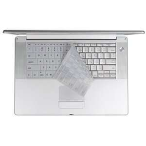 White Keyboard Cover Skin for Macbook Electronics