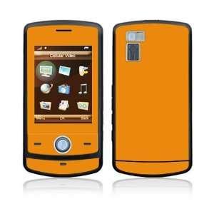 Simply Orange Decorative Skin Cover Decal Sticker for LG Shine CU720