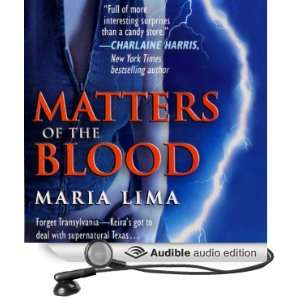 Blood (Blood Lines, Book 1) (Audible Audio Edition) Maria Lima Books