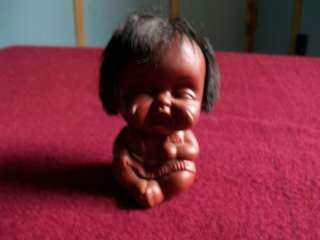 SMALL BLACK CRYING BABY COLLECTABLE VERY CUTE DOLLS TOY
