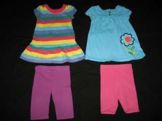 Lot of 36 Baby Girl Toddler 18 18 24 Months Spring Summer Clothes Lot