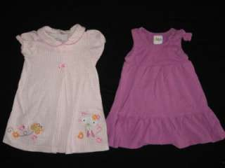 Lot of 22 Pieces Baby Girl 12 12 18 Months Spring Summer Clothes Lot