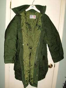 SWEDISH MILITARY M 90 WINTER Field PARKA COAT   2XL NEW OLIVE GREEN