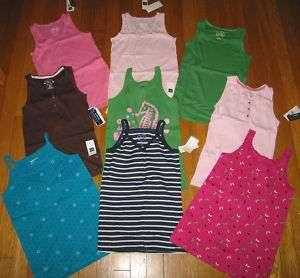 NWT Gap Kids Spring Summer Tank Top Various Styles Size