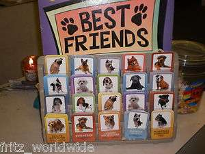 BEST FRIENDS PET STORE SHOP DOG breed INFO CARDS card display GOOD