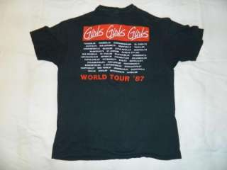VTG TOUR T SHIRT XL CONCERT HARLEY ORIGINAL HOLLYWOOD BAD BOYS