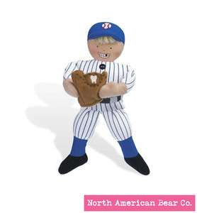 Tooth Fairy Pillow Baseball Player NWT North American Bear