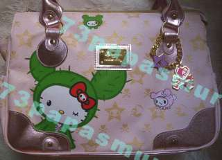 VERY RARE* NWT Tokidoki Hello Kitty PINK BOSTON BAG Polpettina