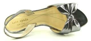KATE SPADE MIRANDA Pewter Womens Wedding Shoes 6.5