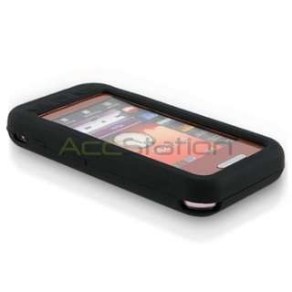 For Samsung S5230 Tocco Lite Black Silicone Soft Gel Skin Case Cover