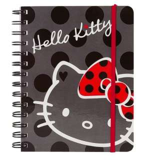 Sanrio Hello Kitty Polka Dot Sprial NoteBook Medium