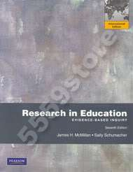 title research in education author james h mcmillan edition 7th
