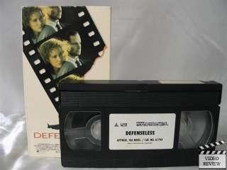 Defenseless VHS Barbara Hershey, Sam Shepard 012236170433