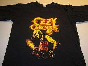 OZZY OSBOURNE BARK AT THE MOON (MEDIUM) Retro T Shirt