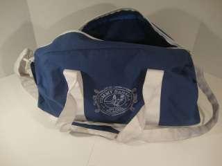 Tommy Bahama Barts Blue Duffle Sport Travel Bag Luggage